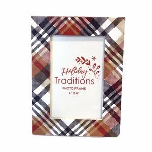 Plaid Picture Frame
